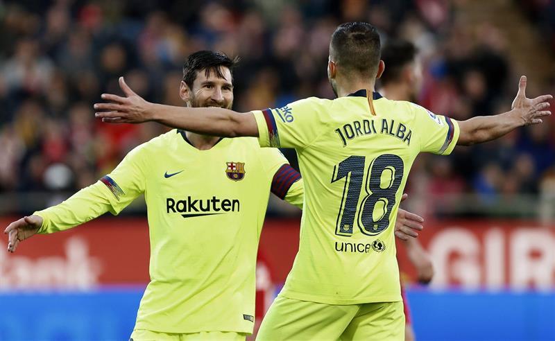 Los culés se mantienen a paso firme en la cima de la Liga de España