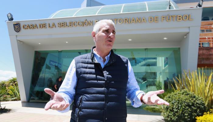 """El presidente de la FEF indicó que Cordón dejó """"un manual de operaciones"""" y que sería """"un error desechar el proyecto"""""""