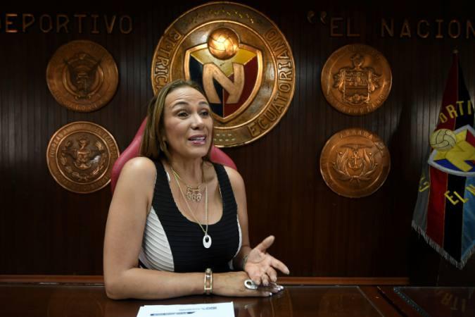 Lucía Vallecilla rechaza las polémicas de su administración a poco de presentar el informe de su primer año al frente del 'Rojo'