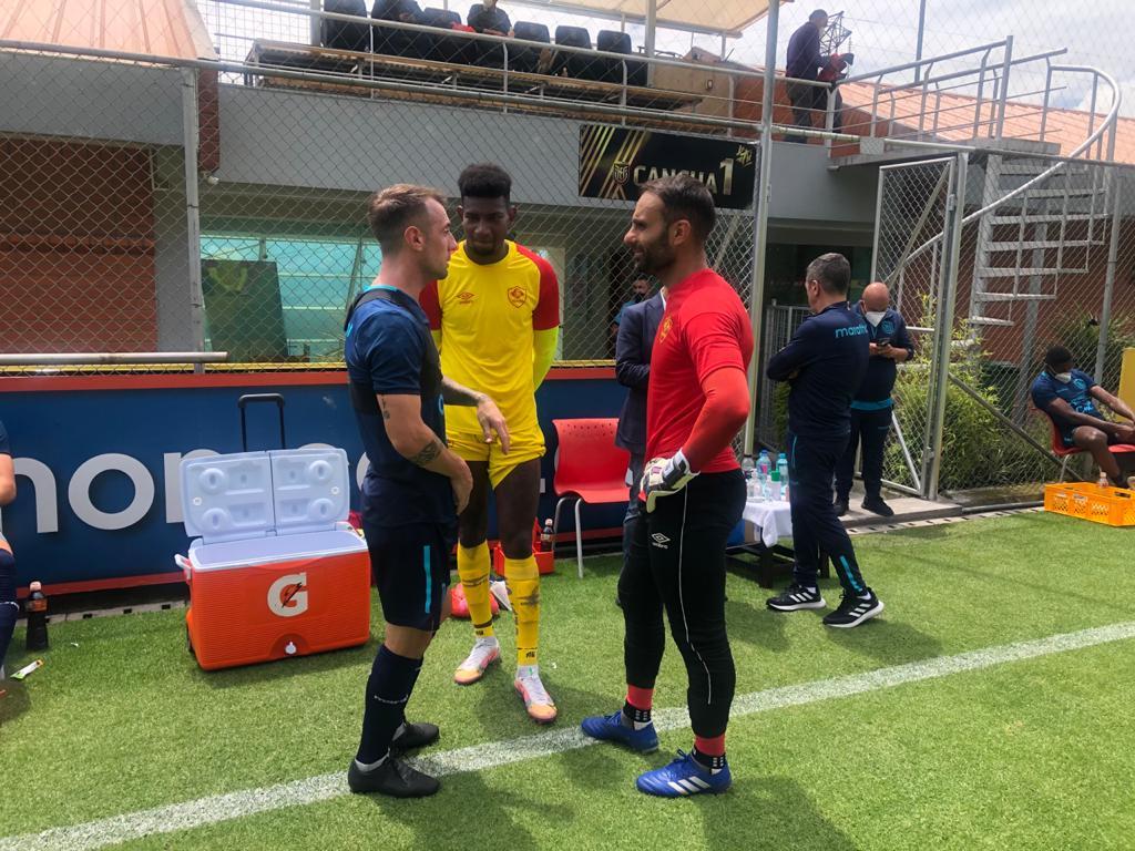 Los de Alfaro van ganando minutos de cara al juego ante Bolivia