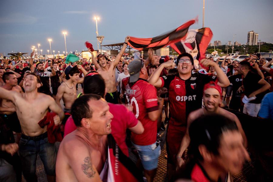 Mucha expectativa en la capital paraguaya a horas de la final de la Copa Sudamericana