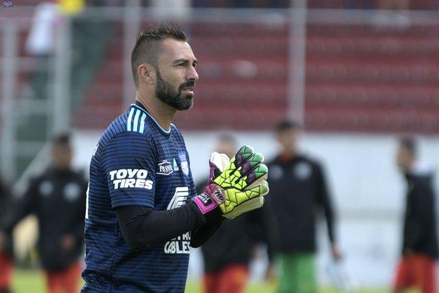 Esteban Dreer se refirió a su error en la final entre Emelec y Liga de Quito