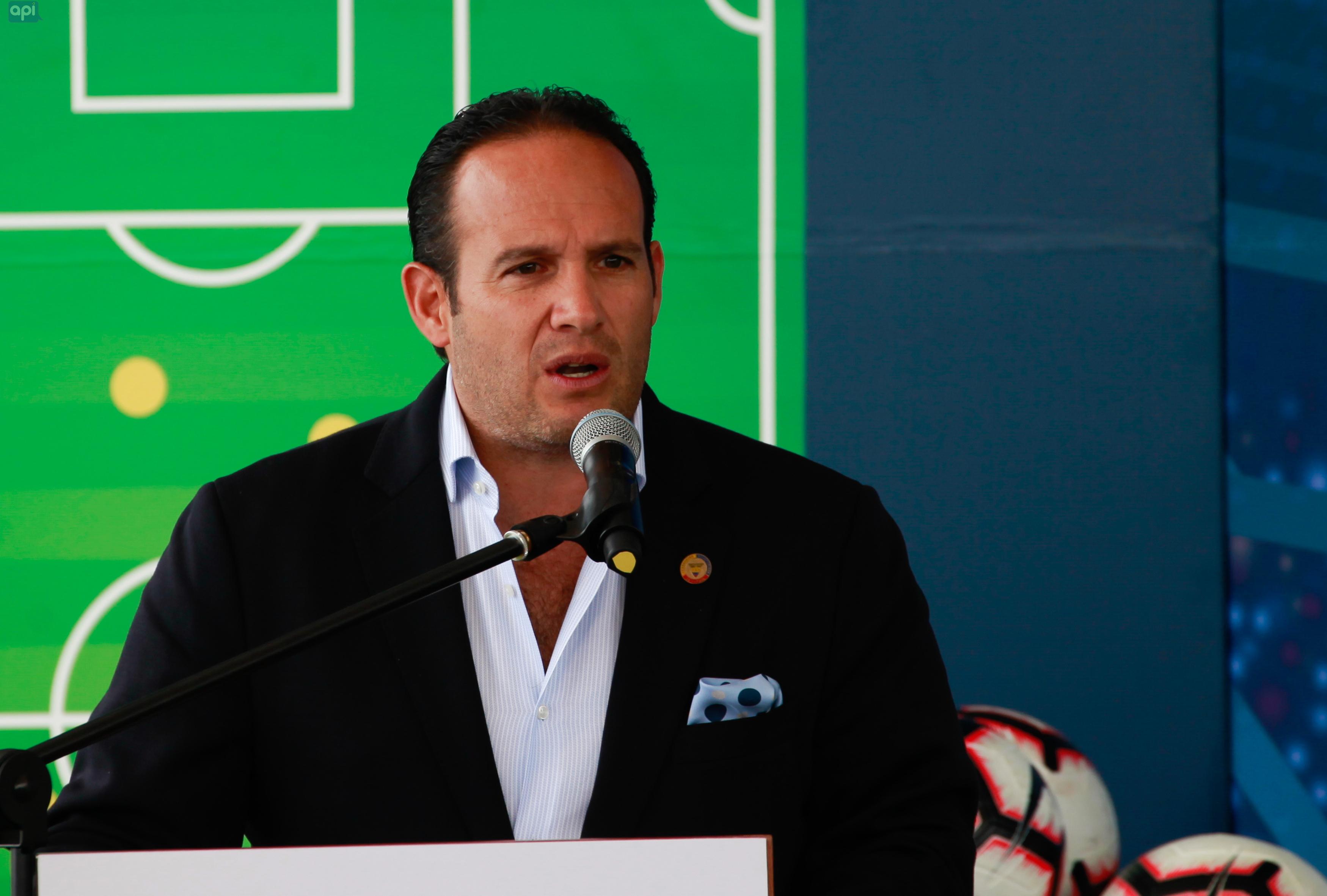 Francisco Egas se refirió al tema económico para la contratación del nuevo seleccionador y a la impresión que le ha dejado la convocatoria de Célico
