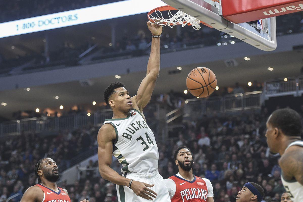 El ala-pívot griego Giannis Antetokounmpo estuvo cerca del doble-doble con 24 puntos y nueve rebotes para los Bucks, que vencieron con facilidad a domicilio por 113-130 a los Pelicans