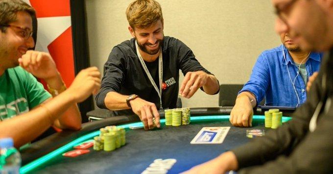 Esta es la primera vez que Vidal asiste al European Poker Tour (EPT) de Barcelona, un torneo en el que participa regularmente Piqué