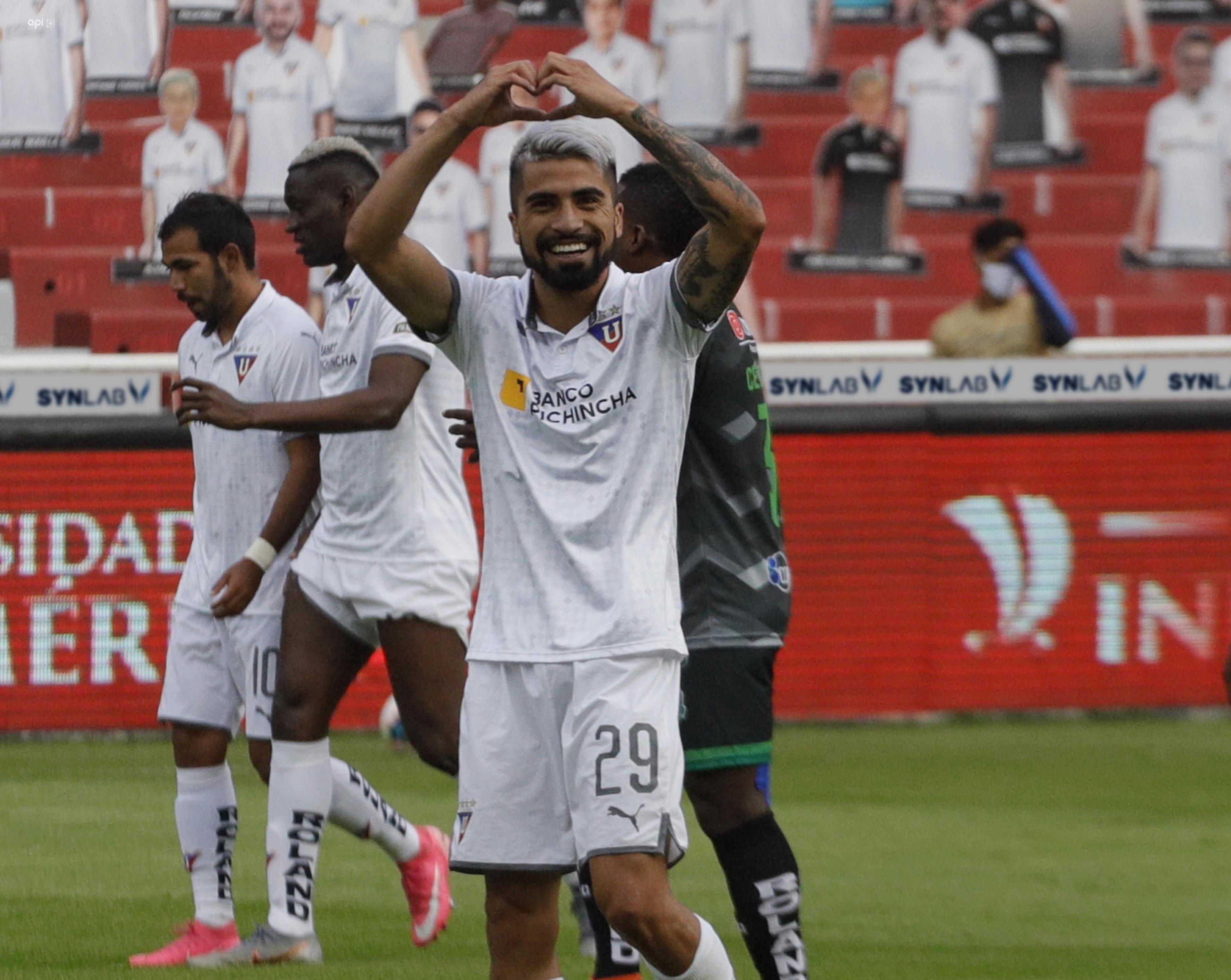 Adolfo Muñoz envió un mensaje previo a la final entre Liga de Quito y Barcelona