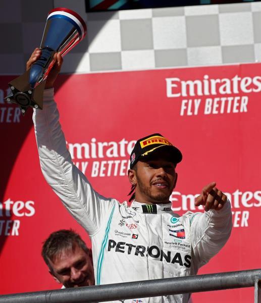 Hamilton se ha proclamado matemáticamente, por sexta vez, campeón del mundo de Fórmula Uno, tras acabar segundo el Gran Premio de EEUU