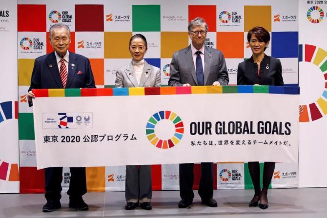 La Fundación de Gates junto a la Agencia de Deportes de Japón llevarán a atletas internacionales a colaborar con ONG de todo el mundo por el desarrollo