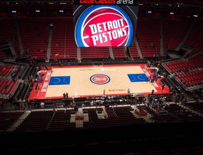 El partido se jugó sólo cuatro días antes de que la NBA suspendiera la competición debido a la pandemia de coronavirus
