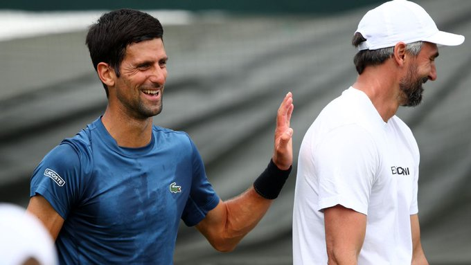 """""""Por fin negativo; y por fin a la libertad después de tres semanas de aislamiento"""", declaró el extenista croata, ganador de Wimbledon en 2001"""