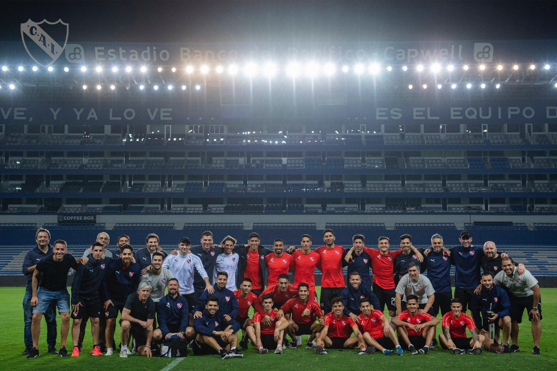 El Club Atlético Independiente llegó hace poco a Quito para la vuelta con IDV por los cuartos de final de Copa Sudamericana
