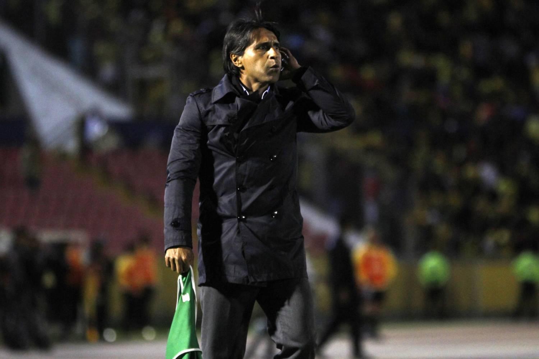 Tabaré Silva confía en que Deportivo Cuenca logre un resultado positivo ante los 'albos' este sábado en el Serrano Aguilar