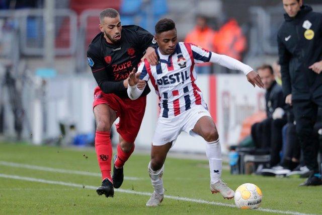 El 'Chiqui' fue titular y jugó 110 minutos en la victoria del Willem