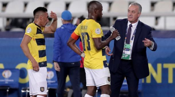 Pese a la dificultad del partido, el seleccionador ecuatoriano confía en dar la sorpresa