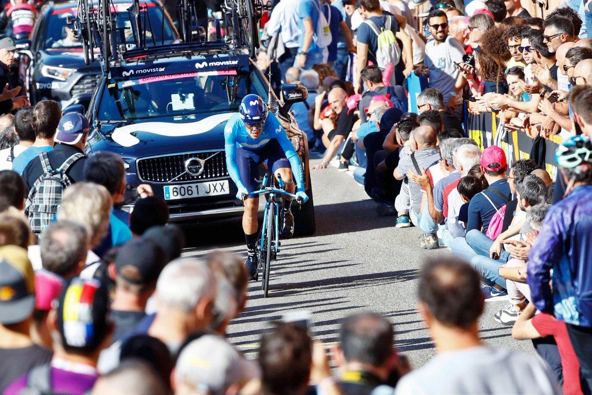 El ecuatoriano sufrió una avería mecánica a 8 kilómetros del final, que le obligó a cambiar su bicicleta con la del catalán Antonio Pedrero