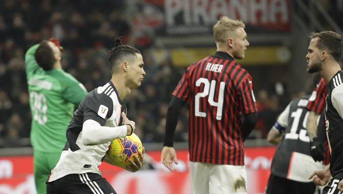 El decimoctavo gol en los últimos catorce partidos de Cristiano matizó una presentación insuficiente del Juventus ante un Milan agresivo