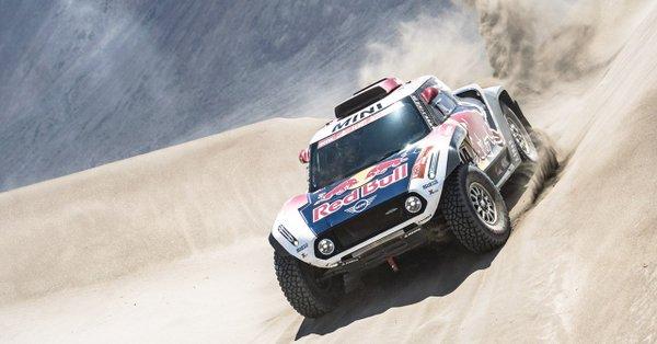 El 'Señor Dakar' se queda así a media hora de distancia del líder de la carrera, el catarí Nasser Al-Attiyah