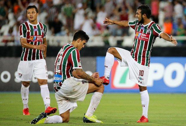"""Junior Sornoza dijo que es """"difícil asimilar"""" el gol de Nacional, sin embargo, confía en que Fluminense consiga el pase a semifinales en Uruguay"""