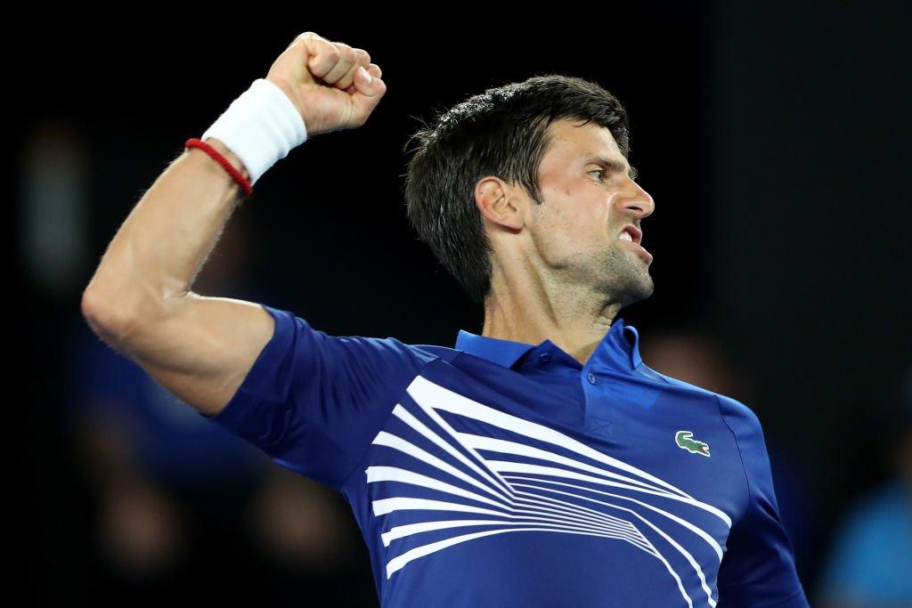 Djokovic, campeón en seis ocasiones en Melbourne, dominó al joven Krueger, procedente de la fase previa