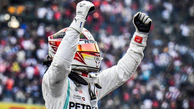 El británico aseguró el título cuando aún faltan otras dos carreras por disputarse dentro del calendario oficial de la Formula 1