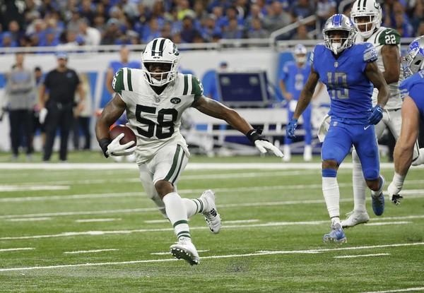 El apoyador de los Jets de Nueva York volverá para el próximo año
