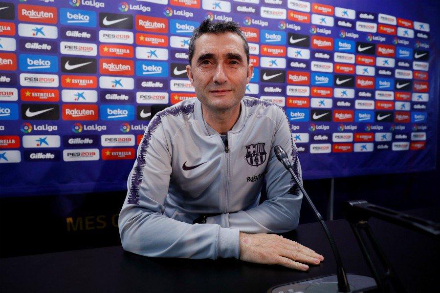 """El DT de Barcelona recordó que su equipo jugará como local y que su intención es """"ganar el partido"""", pero también advirtió de que """"eso no basta"""""""
