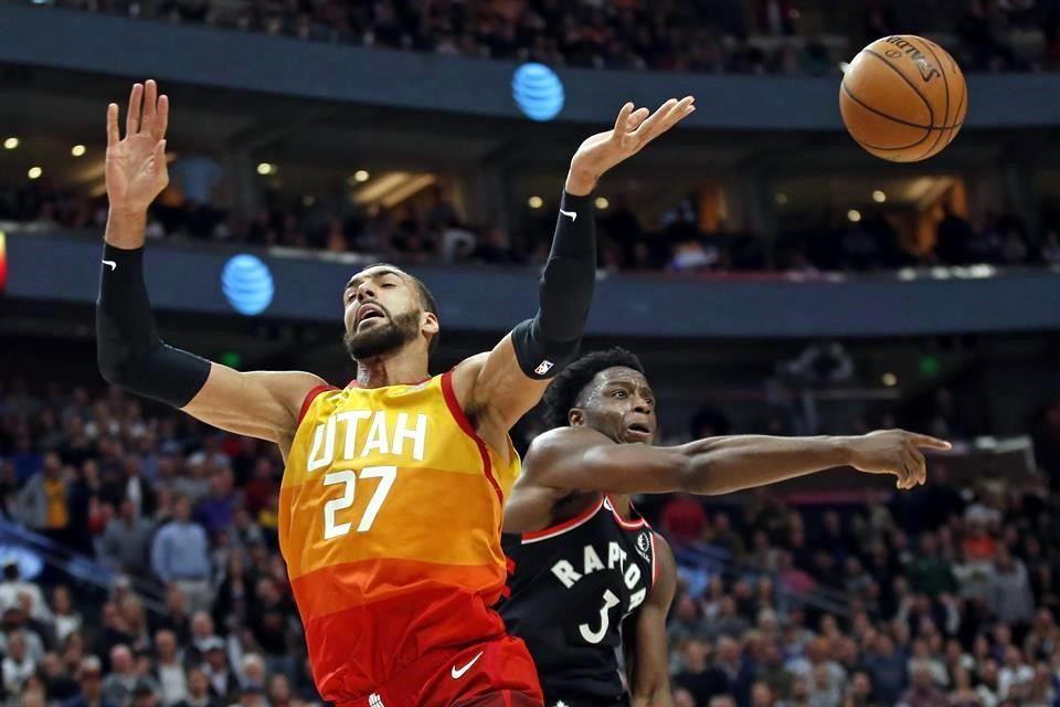 Los de Toronto fueron los últimos en enfrentarse a los Jazz de Utah, cuyos jugadores Gobert y Mitchell dieron positivo al Covid-19