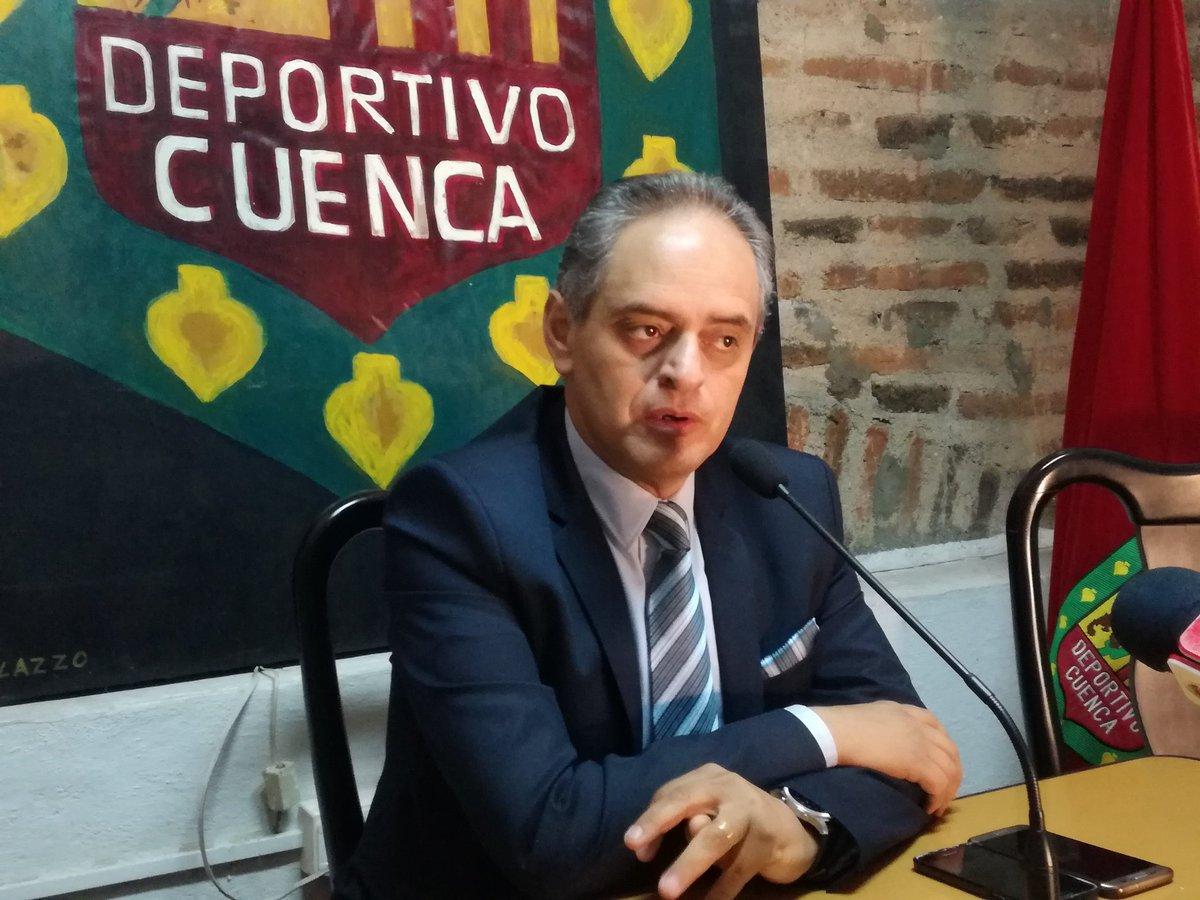 El presidente de Deportivo Cuenca adelantó los temas del Congreso Extraordinario