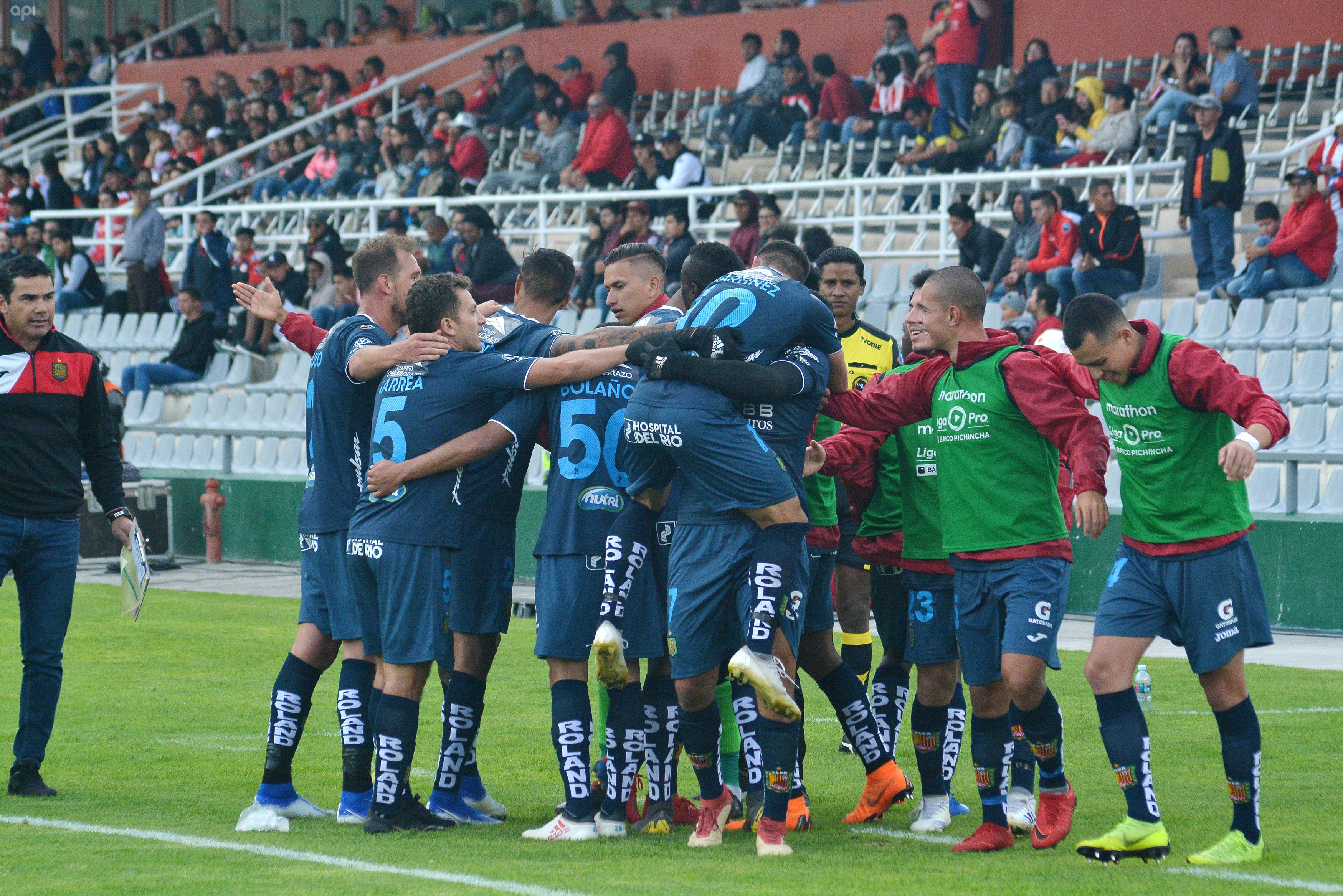 Deportivo Cuenca ganó en su visita a Técnico Universitario que le pone en la octava posición de la tabla