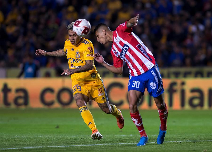 El ecuatoriano fue aporte en el empate sin goles de Atl. San Luis ante Tigres que contó con Enner Valencia desde el minuto 76