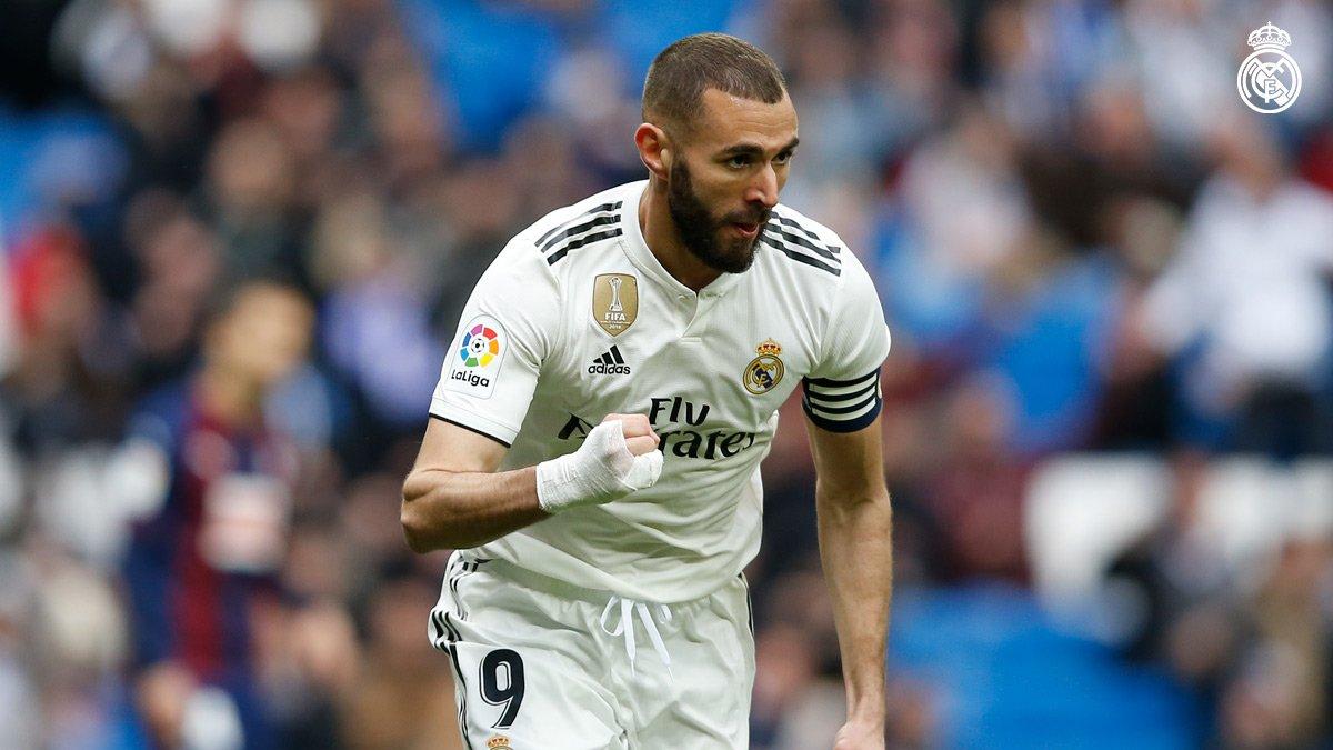 El francés anotó un doblete para darle la victoria al Real Madrid sobre Eibar