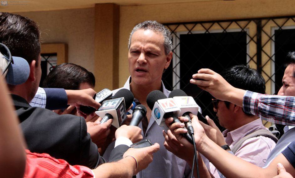 """""""Vamos a tomar las acciones del caso"""", comentó el dirigente de Liga de Quito"""