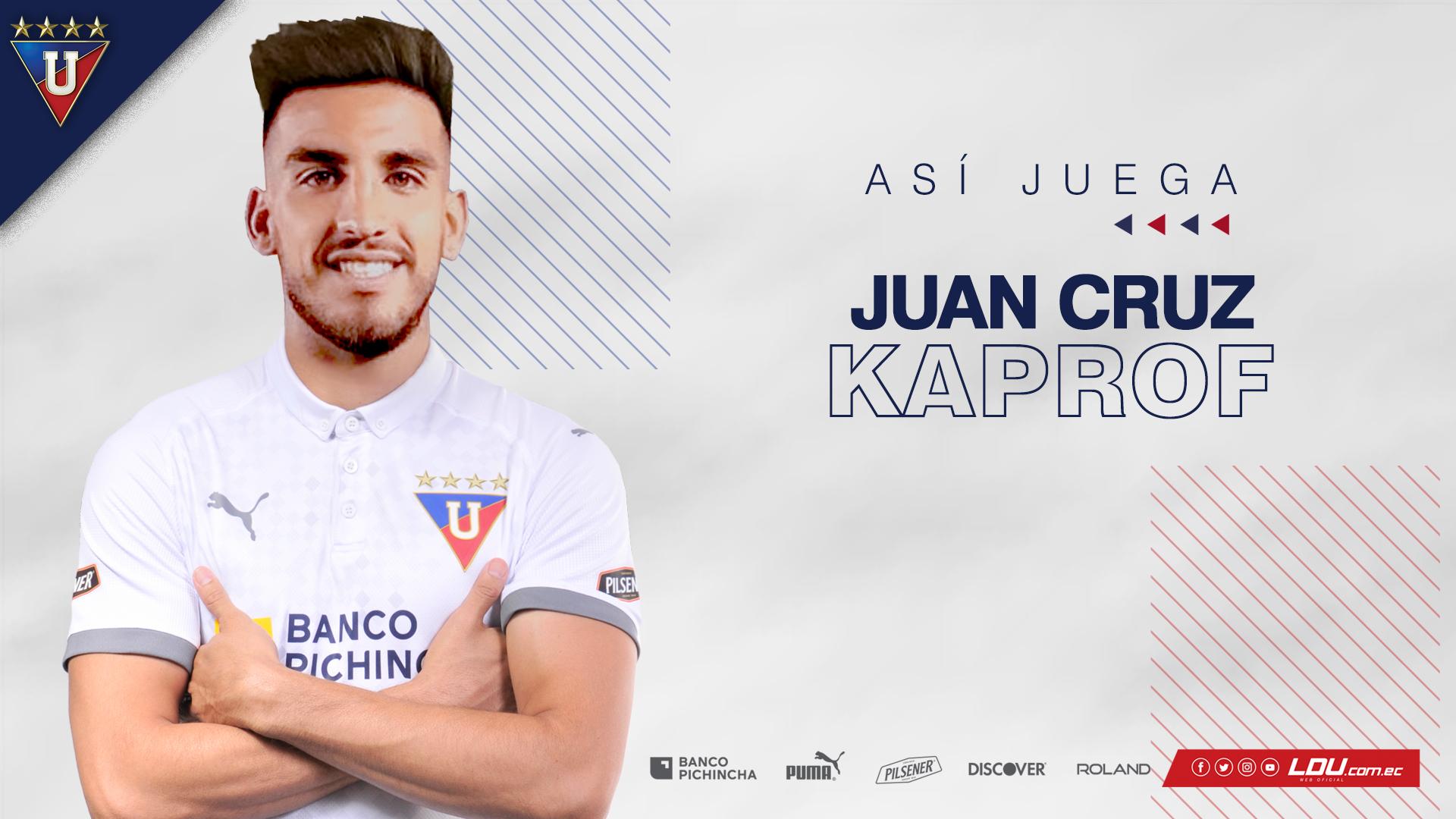 Esteban Paz se refirió a la llegada del argentino Juan Cruz Kaprof