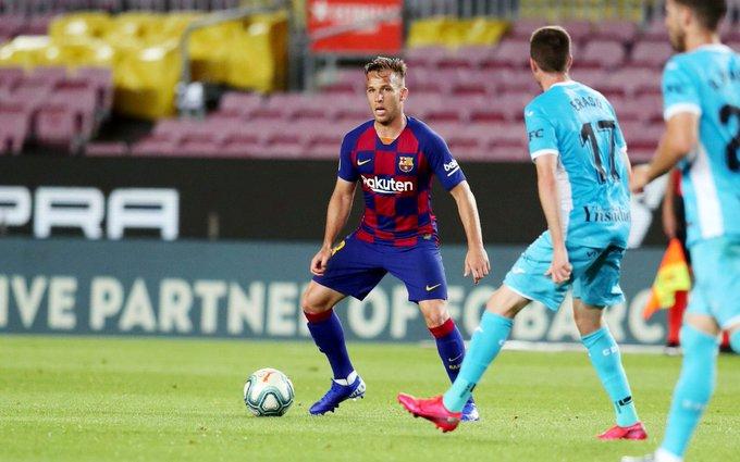 Arthur pasará revisión médica y está previsto que regrese este domingo mismo a Barcelona