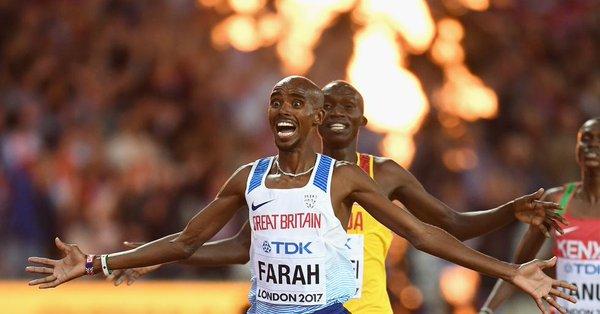 Tras proclamarse campeón del mundo de 10.000 metros en 2017, Farah anunció su retirada del atletismo en pista para centrarse en el maratón