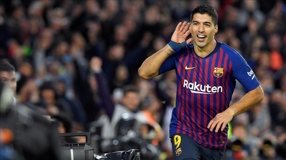 El delantero uruguayo recibirá el premio ante sus seguidores en el Camp Nou en los momentos previos al partido contra el Betis