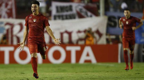Fernando Gaibor sumó minutos en la apretada derrota que sufrió Independiente ante Boca Juniors