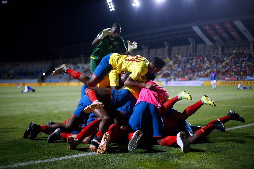 """""""Lo he disfrutado, así como los millones de ecuatorianos, sobre todo estos pequeños que se ven en ustedes. Estamos seguros de que ya los llenaron de orgullo"""", dijo Lenín Moreno"""