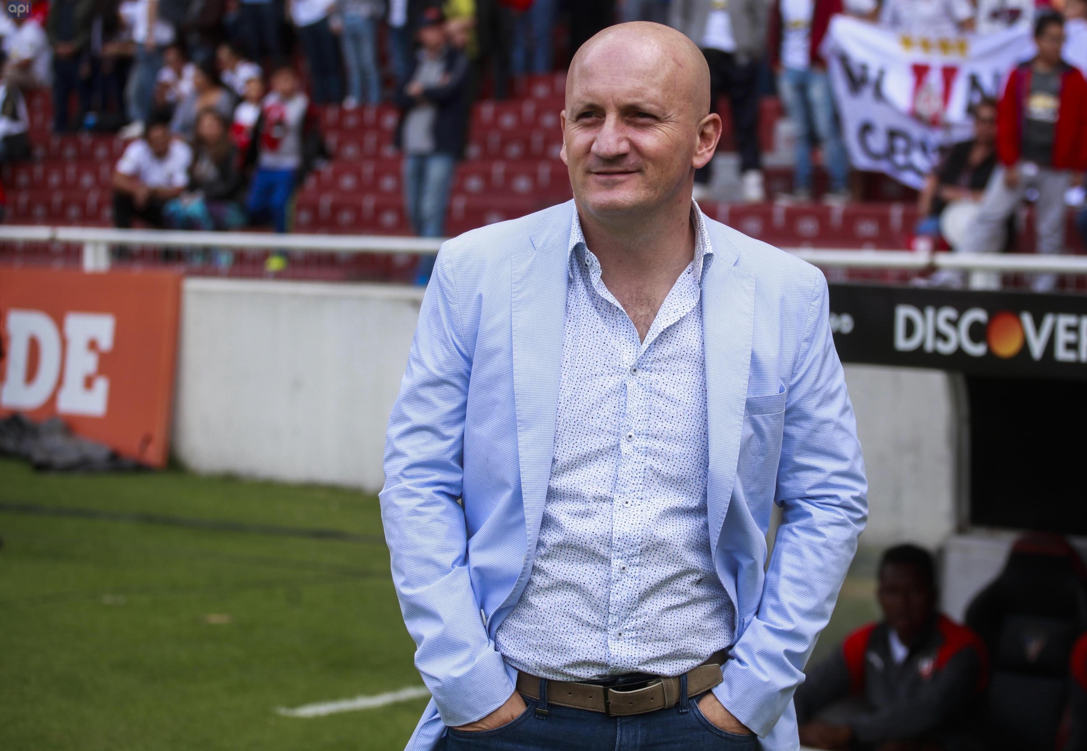 La plantilla de Liga de Quito todavía no está completa, según Pablo Repetto necesitan vincular a un extremo