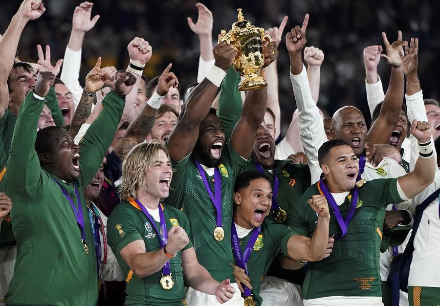 """Los """"Springboks"""" demostraron ser un equipo de oficio en la gran definición"""