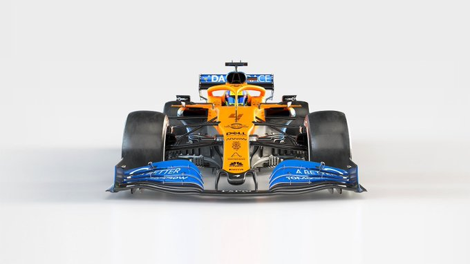 """Sobre el nuevo monoplaza, el piloto español destacó que tiene """"buena pinta"""" y que parece """"más compacto y más fino"""" que el MCL34 con el que compitió el año pasado"""