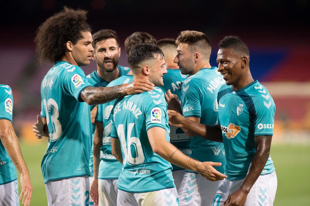 Pervis Estupiñán se pronunció tras la victoria del Osasuna contra Barcelona, donde fue declarado el mejor jugador del partido