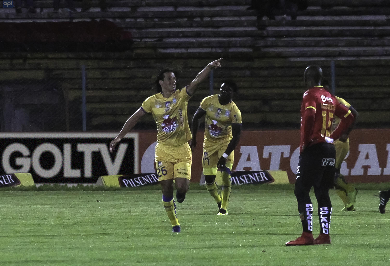 Delfín escala al tercer puesto tras la victoria lograda de visita y desplaza a Deportivo Cuenca al cuarto lugar.