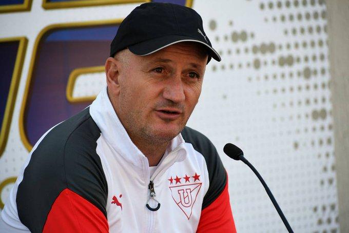 Pablo Repetto está animado por la reactivación de los entrenamientos, con buenas novedades en Liga de Quito
