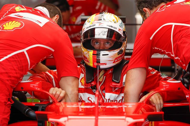 El alemán está enfocado en terminar bien la temporada y poder colaborar para que Ferrari obtenga el título de constructores