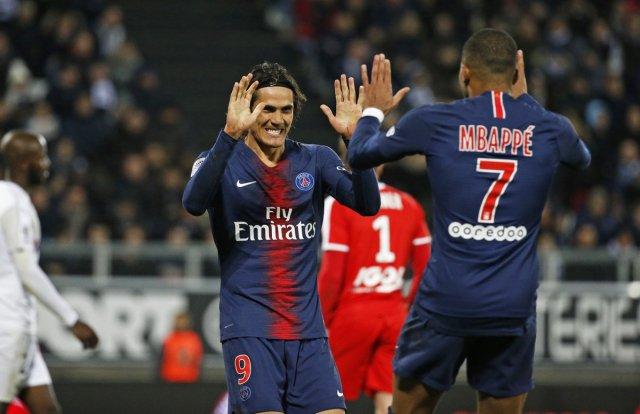 El equipo parisino lidera con 50 puntos la tabla de la Ligue 1 jugada la vigésima jornada