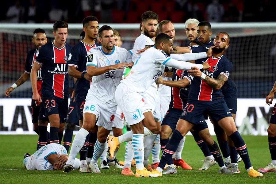 Uno de los involucrados en el incidente fue Neymar