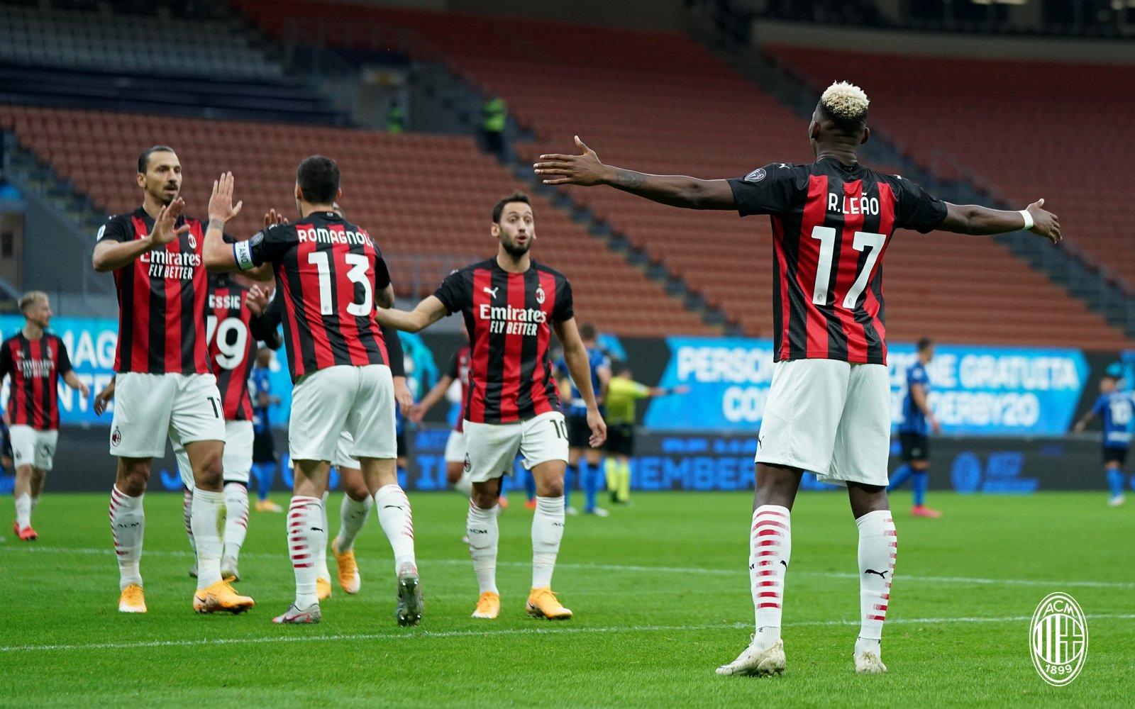 El sueco fue clave en la victoria del AC Milán