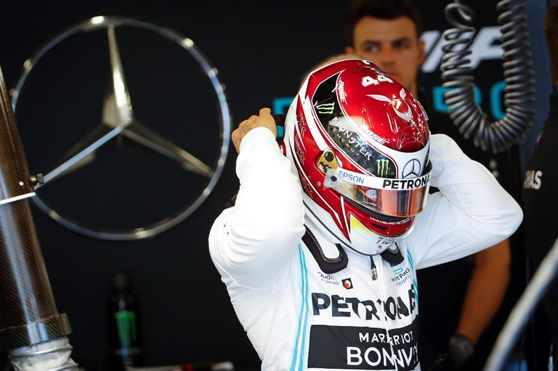 El piloto de Mercedes logró la 'pole position' en la sesión de clasificación y saldrá primero en el GP