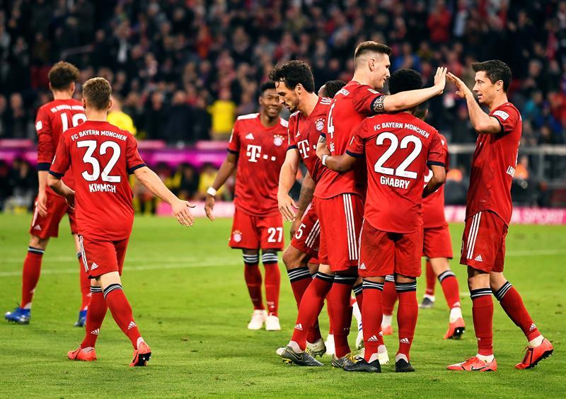 Los tártaros no tuvieron piedad ante su principal rival, Borussia Dortmund